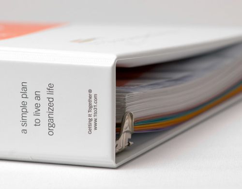 The 1 to 31 Organizing System Binder
