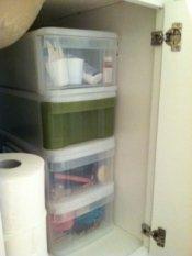 bathroom storage units