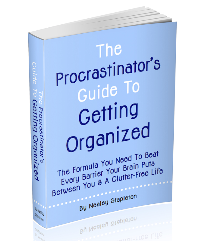 The Procrastinator's Guide To Getting Organized