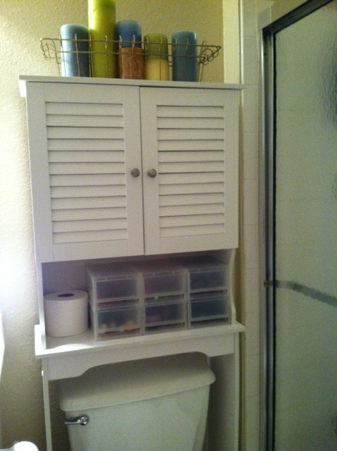 bathroom storage units