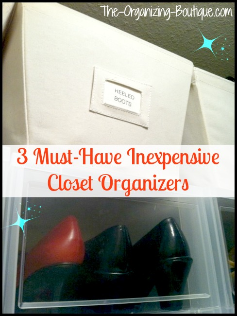 3 must-have inexpensive closet storage solutions