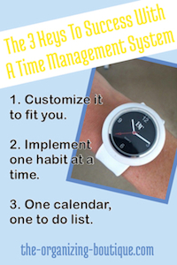 learning time management skills