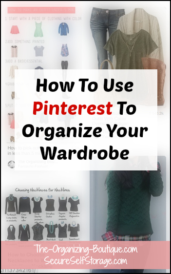 Pinterest Ideas: Organizing Your Wardrobe