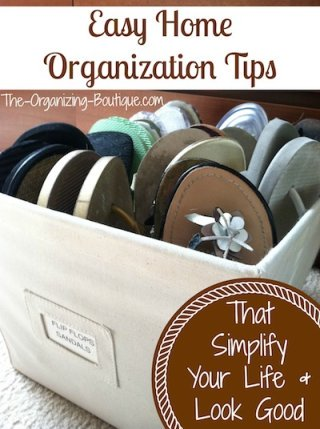 home organization tips that will simplify your life & look good