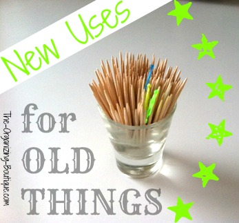 new uses for old things - repurposing