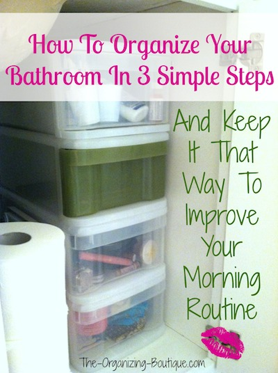 bathroom storage ideas to improve your morning routine
