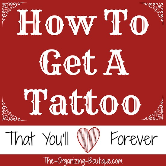how to get a tattoo