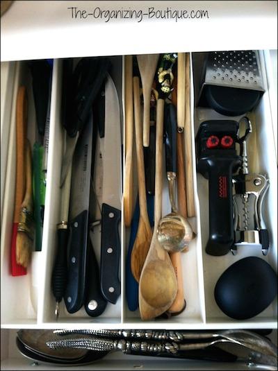 kitchen drawer organizers