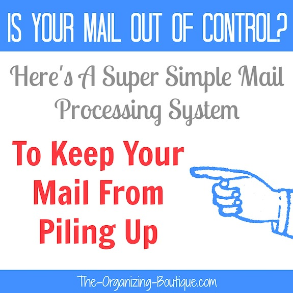 home mail organizer | mail processing system