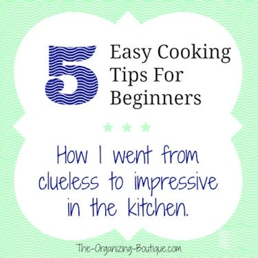 5 easy cooking tips for beginners