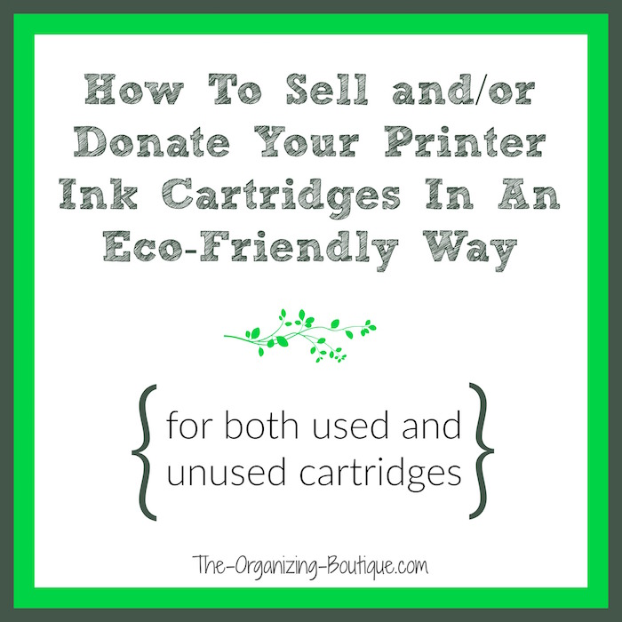 Ink for printer - how to discard used and unused printer ink.