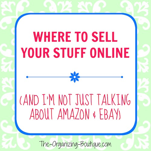sell my stuff online