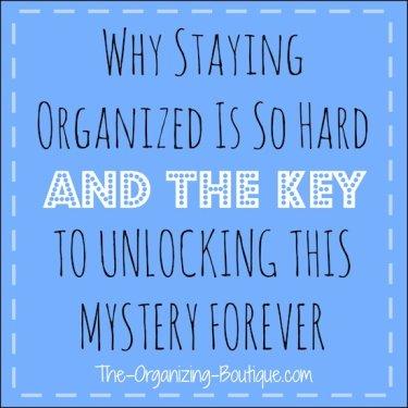 organizing style