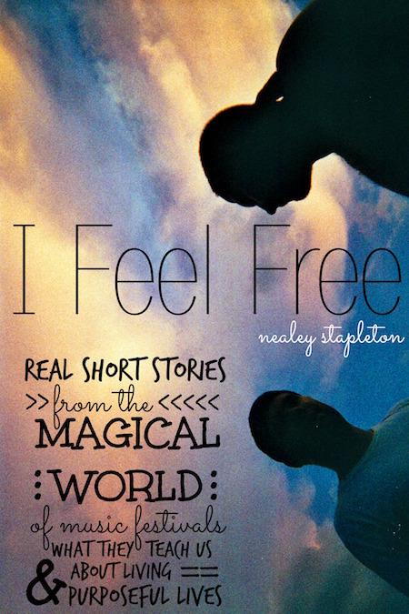 music festival book - I Feel Free