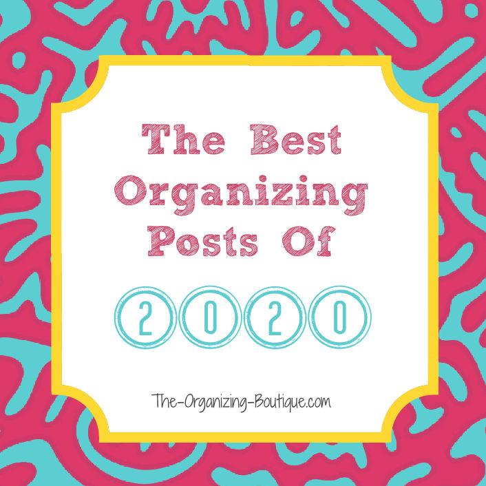 best 2020 organization tips