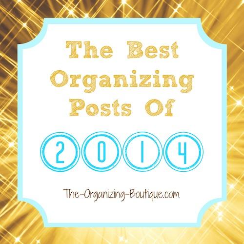 2014 best organizing posts