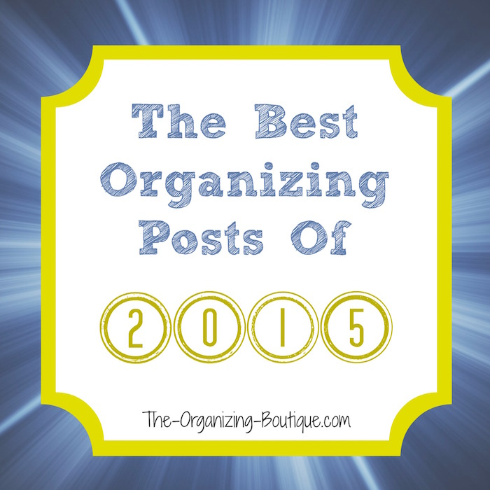 2015 top organizing blog posts