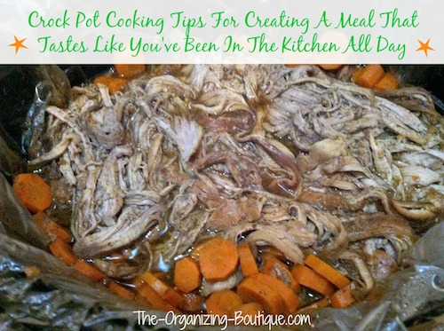 crock pot cooking tips
