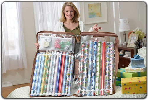 wrapping paper organizer wrapping paper storage. Black Bedroom Furniture Sets. Home Design Ideas