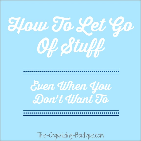 How To Clean Up Clutter & Let Go Of Stuff
