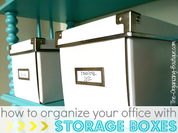 Gentil Office Storage Boxes