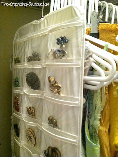 jewelry & necklace organizer