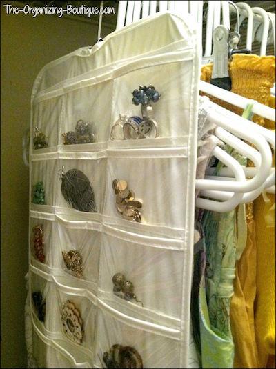 jewelry & necklace organizer