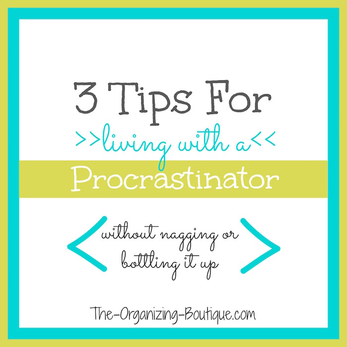 effects of procrastination - living with a procrastinator