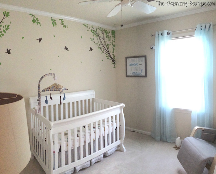 Nursery Room Ideas | Music Festival Baby Nursery Decor