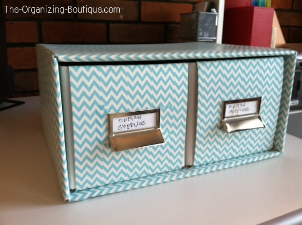 DIY Home Decor Crafts - Office Drawers Makeover Using Washi Tape