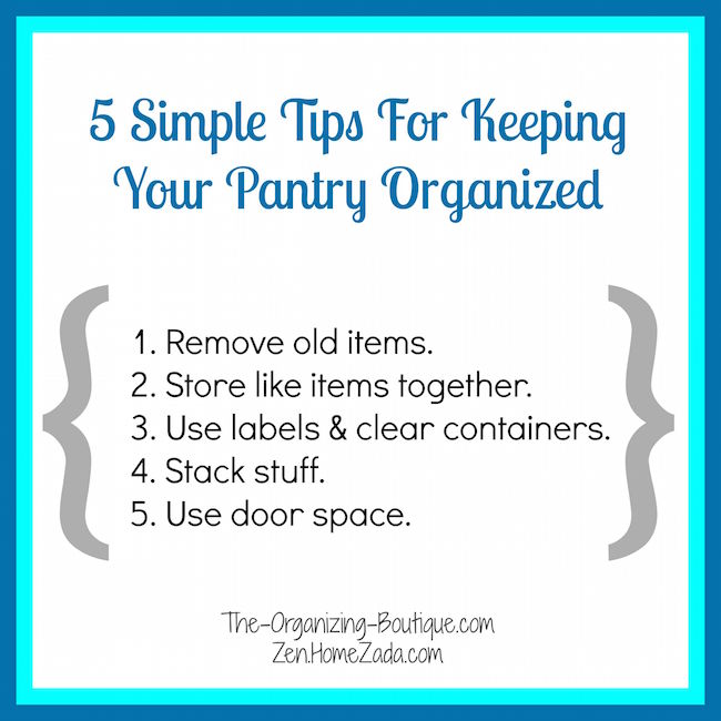 5 simple pantry storage cabinet tips