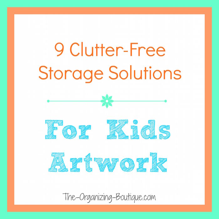 Storage For Kids Artwork