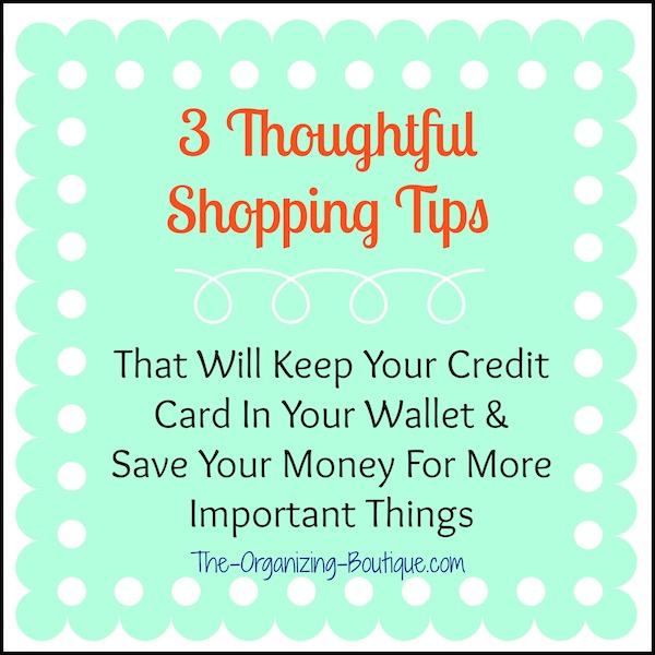 general & online shopping tips for thoughtful shopping