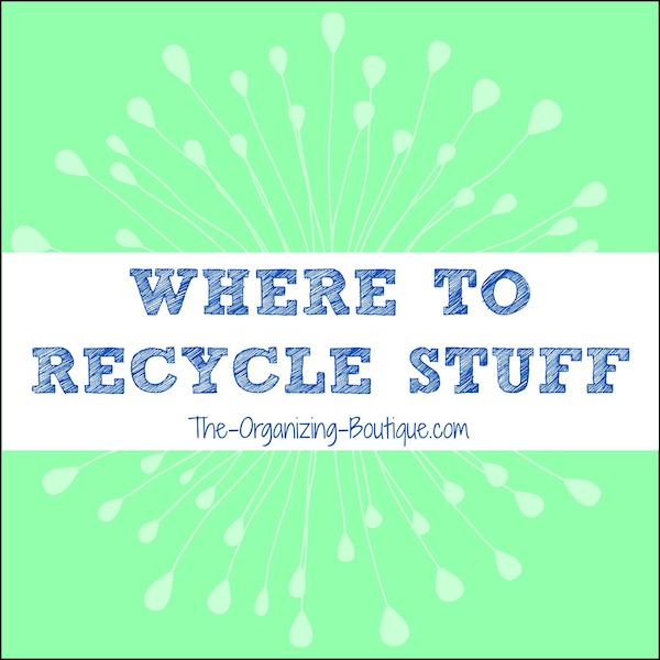 where to recycle household items