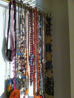 how to reuse a tie rack