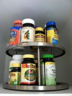 pill container - organize vitamins