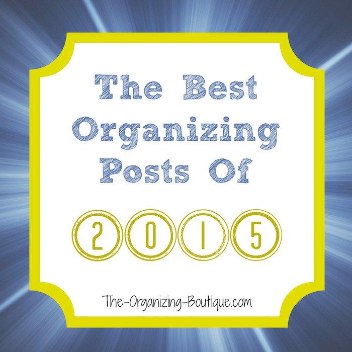 2015 top organizing blog posts