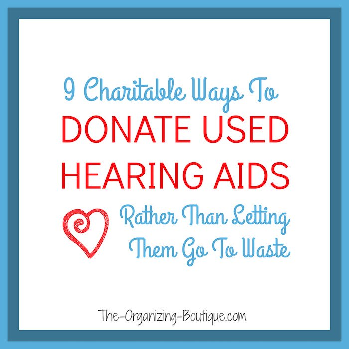 donate hearing aids