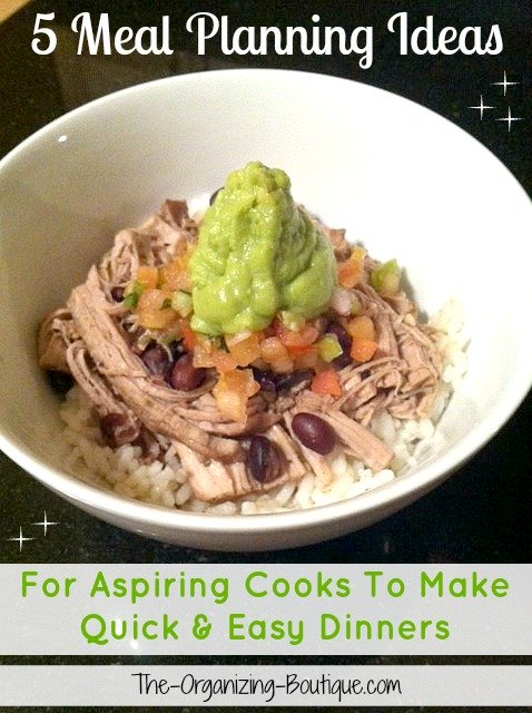 5 Meal Planning Ideas For Aspiring Cooks To Make Quick & Easy Dinners