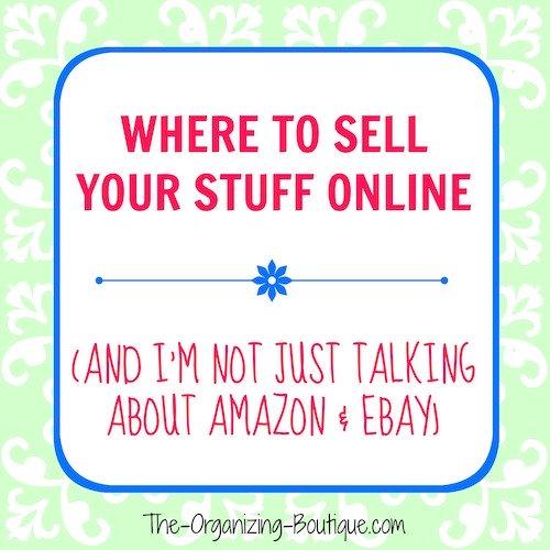 sell my stuff online