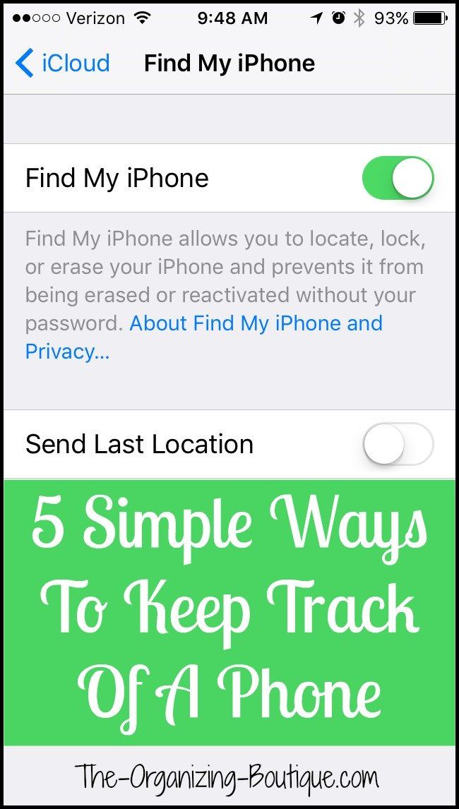 track your phone