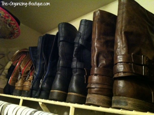 boot hangers and storage ideas