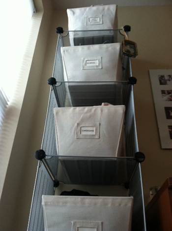 organizing the home: accessories
