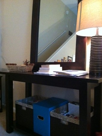 organizing the home: multipurpose station