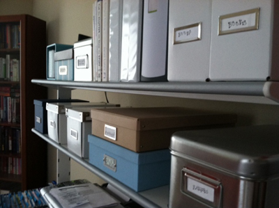 organizing the home: home office