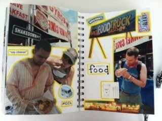 how to organize scrapbooking projects